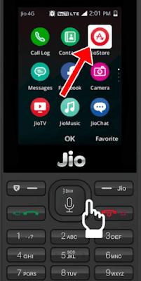 Open Jio App Store