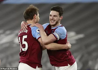 West Ham are learning to win ugly: Rice on leads wins