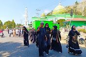 Peringati Tahun Baru Islam, Ratusan Warga Lamuru Gelar Pawai