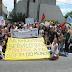 Manisfestantes invadem FIERN