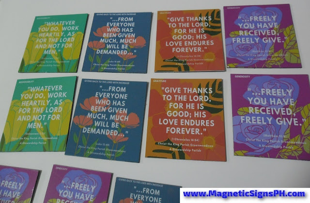 Ref Magnets - Christ The King Parish Greenmeadows