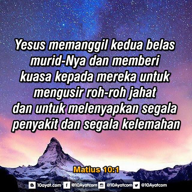Matius 10:1