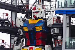The World Largest 60 Feet Tall Gundam Robot That Can walk