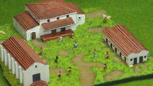 A Roman Farmstead in 6mm