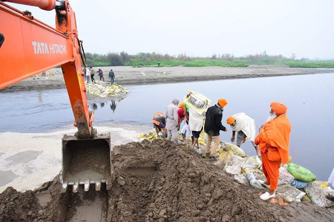 The food provider may not become beggar again during floods-Sant Seechewal