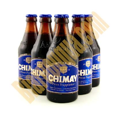 Bia chai Chimay xanh