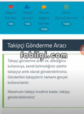 Instagram Kredi Veren Yeni Takipçi Hile Sitesi 2020 (Takipstar)