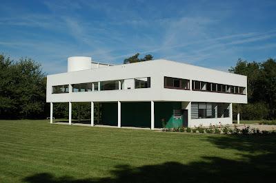villa Savoye-Le Corbusier-tetto piano-architettura