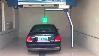 Laser car wash