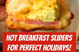 Hot Breakfast Sliders For Perfect Holidays! #breakfast #sliders