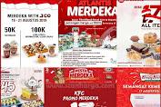 Daftar Promo Kemerdekaan 17 Agustus Mulai Dari JCO, KFC Hingga Pizza HUT
