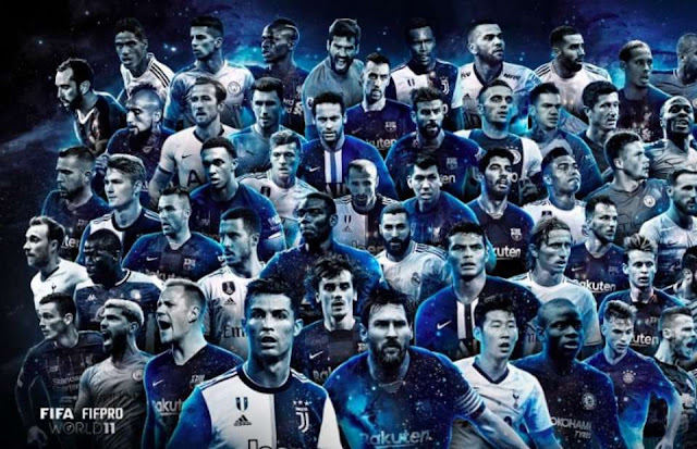 2018/19 FIFA FIFPro World XI 55 Men Shortlist
