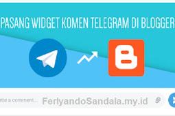 Cara Memasang Komentar Telegram di Postingan Blogger