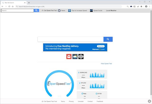 Search.hgetspeedtestfast.com (Hijacker)