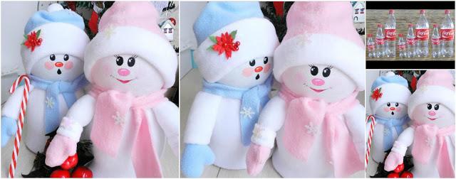 muñecos-navideños-reciclaje