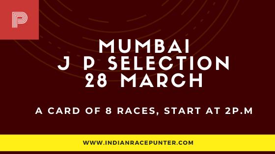 Mumbai Jackpot Selections 28 March