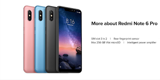 Xiaomi Redmi 6 Pro Firmware