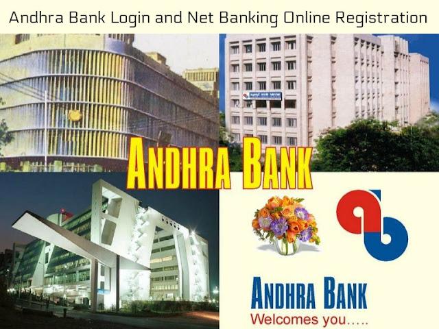 Andhra Bank Login and Net Banking Online Registration