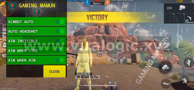 Gaming Mamun Free Fire Apk Terbaru| Full Esp, Fix Matchmaking, Headshot, Dll