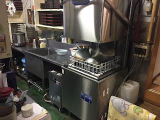 新しい食器洗浄機
