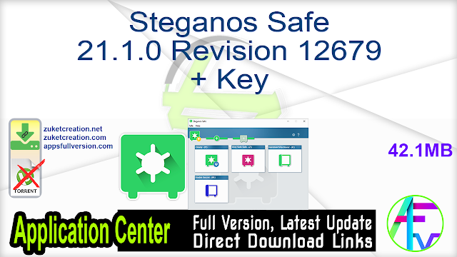 Steganos Safe 21.1.0 Revision 12679 + Key