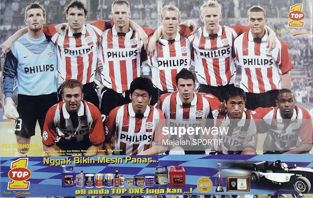 TEAM PSV EINDHOVEN 2002