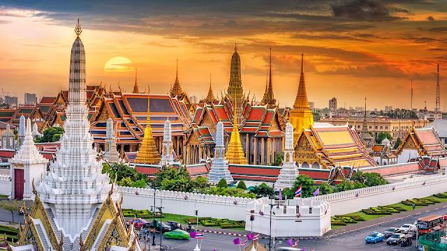 Du lịch Bangkok, Thái Lan và những cung điện lộng lẫy