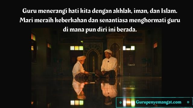Kata-kata bijak Islami Tentang Guru
