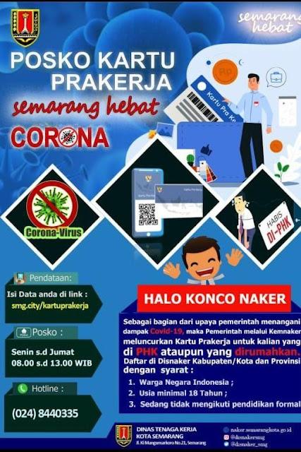 Info Cara Daftar Kartu Prakerja 2020 Di Semarang