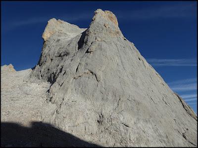Caras Sur y Este del Picu Urriellu