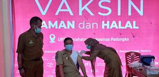 Beri Keteladanan, Ini Himbauan Sekda Barru ke Masyarakat tentang Vaksin Aman Dan Halal