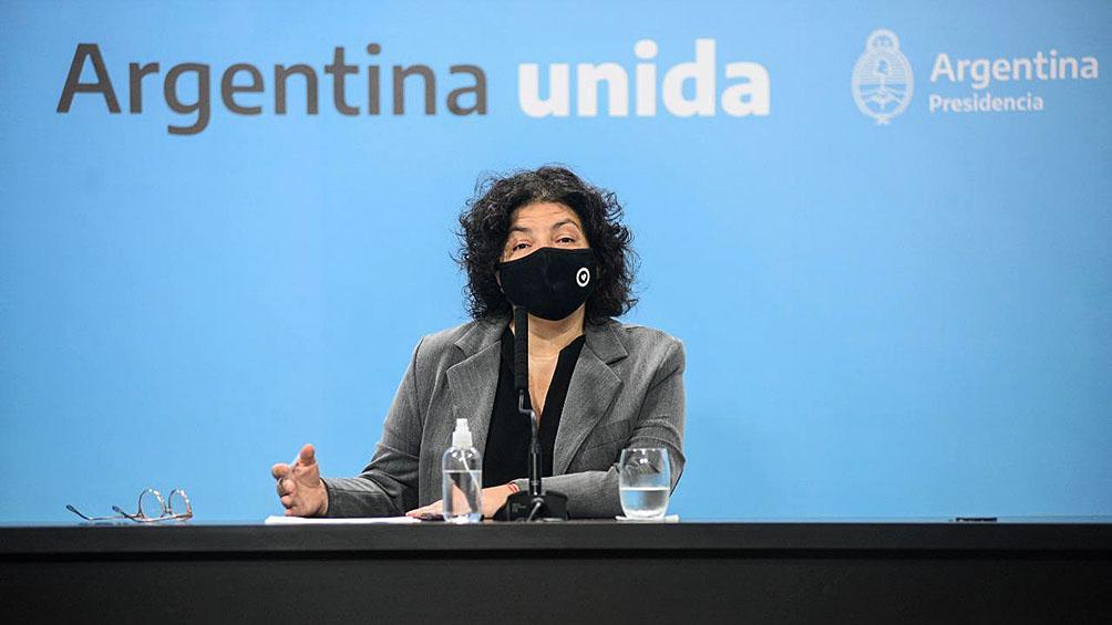 Carla Vizzotti aseguró que la segunda ola ya empezó y adelantó que se adoptarán medidas intensas