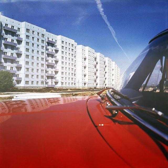 1975 год. Рига. Пурвциемс (источник фото: Национальный архив Латвии)