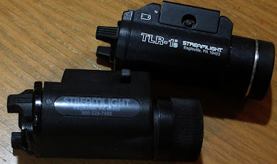 My new Streamlight TLR-1s and my older M-3