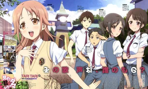 Anime P.A.Works Terbaik - Tari Tari