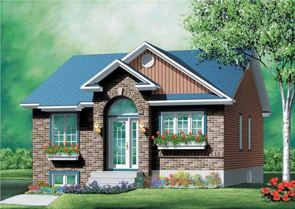 A beautiful small house design is all that we need. If you are looking for a small house design enough to be decent for a small family, you're in the right place. This is a compilation of 25 small houses with the layout that will match your style!
