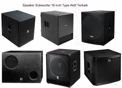 Speaker-Subwoofer-18-inch-Aktif-Terbaik