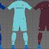 PES 2017 FC Barcelona Kits 2017-18