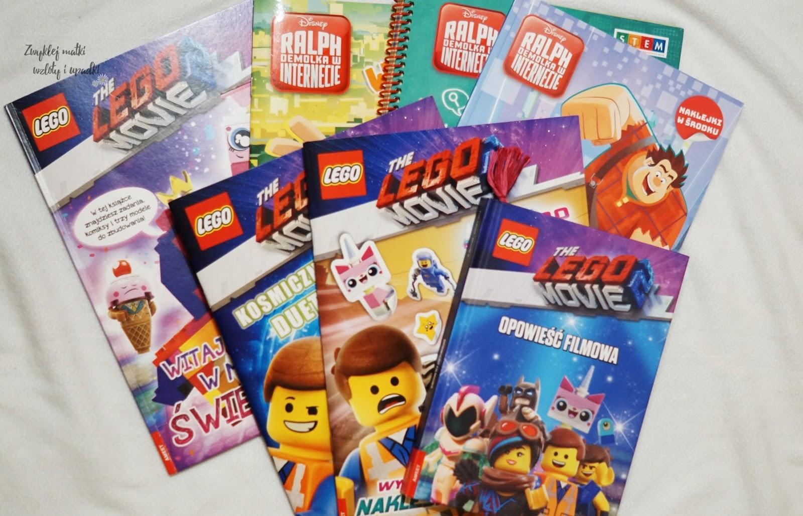 Lego Movie 2 i Ralph Demolka w kinie, a po kinie...