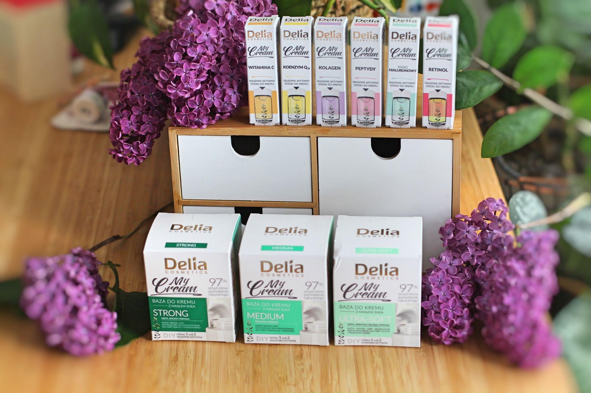 Delia My Cream - pielęgnacha DIY