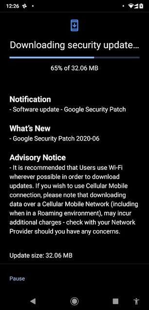 Nokia 8.1 receiving June 2020 Android Security patch