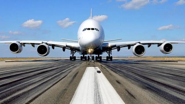 Tempo de avião até o Canadá