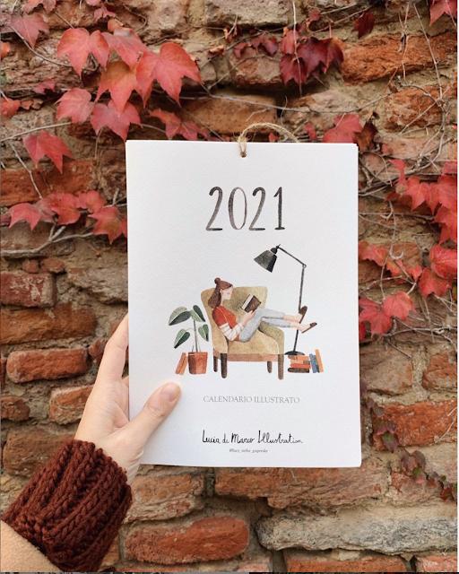 Lucy in the Paper Sky calendario 2021