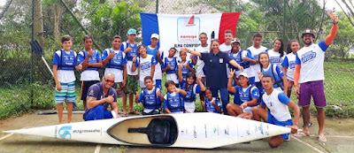 Atletas do Navega SP Núcleo Ilha participaram do  II Festival Esportivo na Represa Guarapiranga