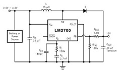 LM2700 Step-Up PWM DC/DC Converter Datasheet