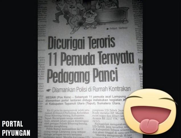 Nah Loh... Konyolnya nih..! Dicurigai Teroris, 11 Pemuda ini Ternyata Pedagang Panci