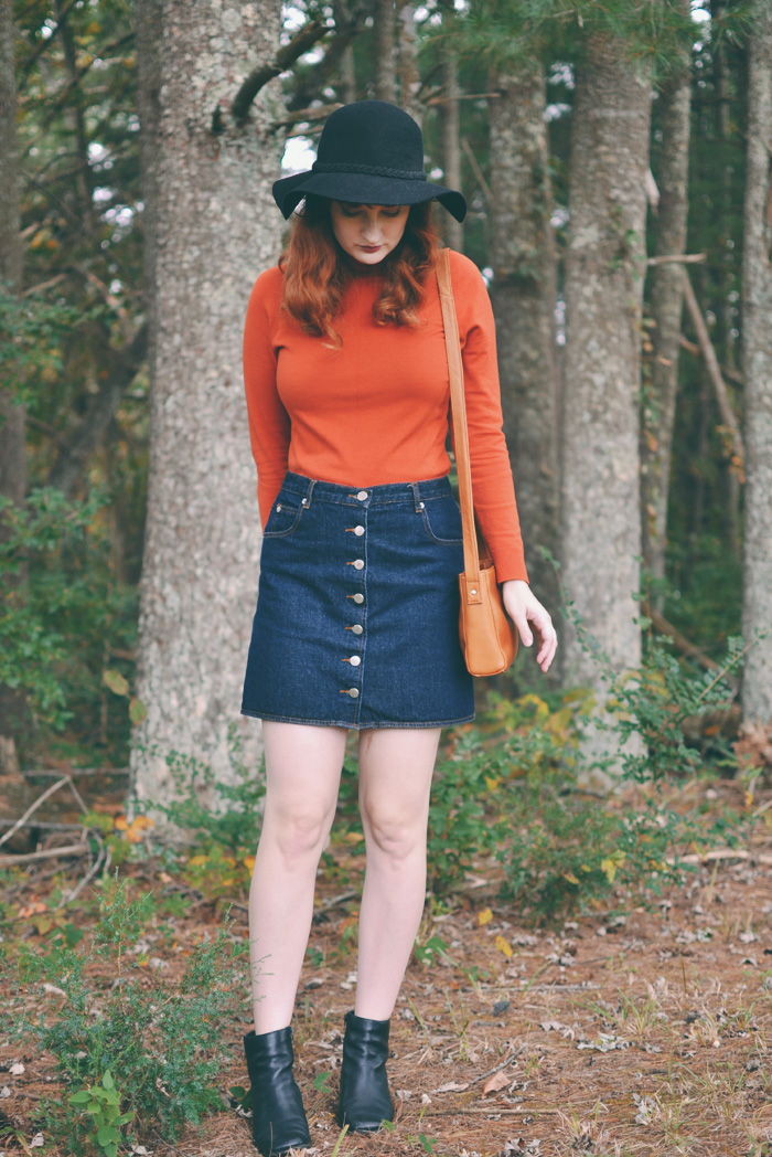 The Flying Clubhouse: Pumpkin Spice My Wardrobe #floppyhat