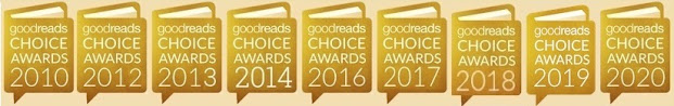 9th Goodreads Choice Nominee!!