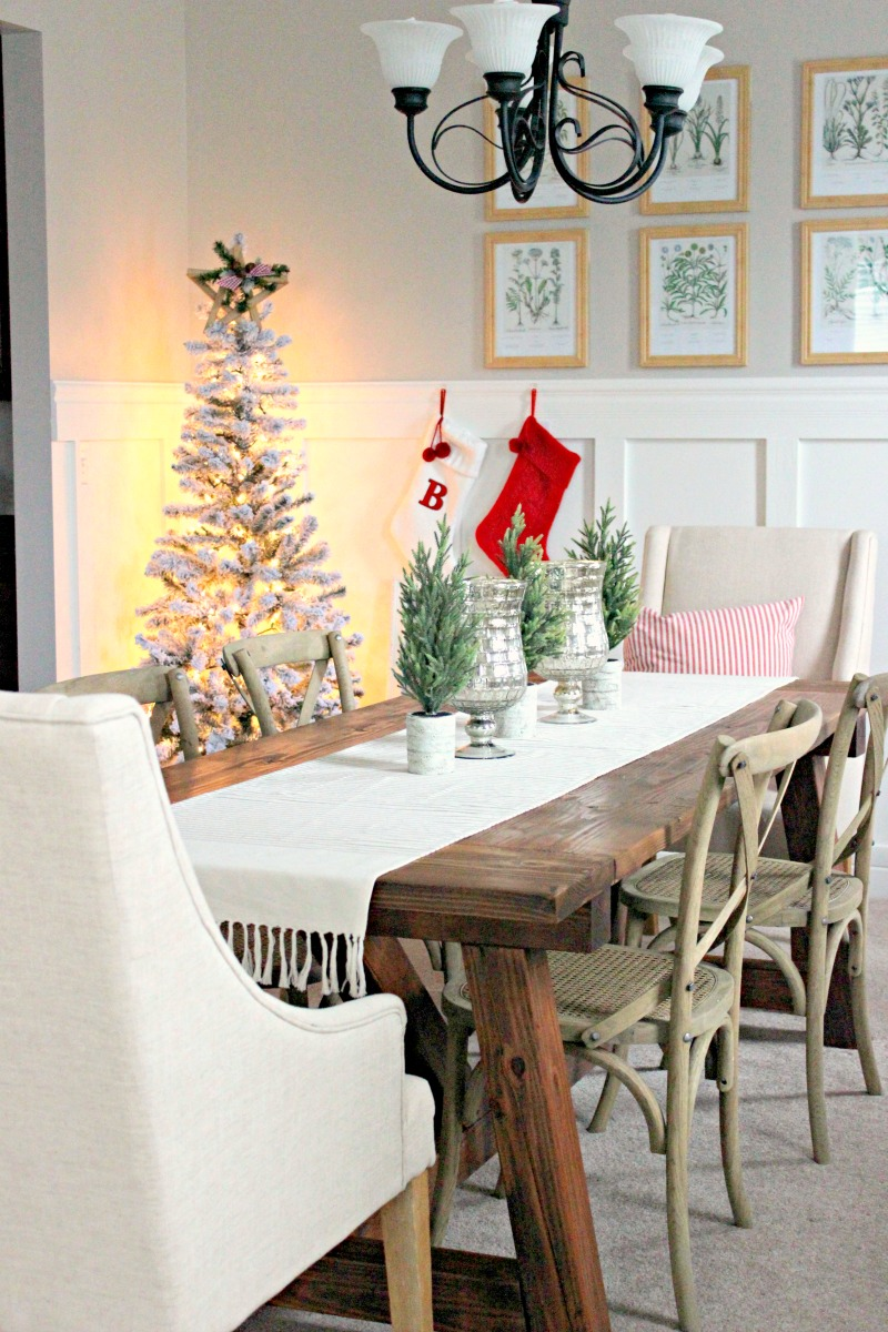 dining room christmas ideas
