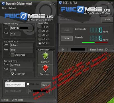 Inject Fwcombie Telkomsel dan MMD Internet Gratis Fwcombie Terbaru